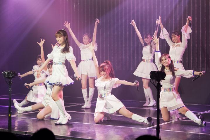 NMB48・ナンバトル優勝チーム「きゅんmart」新公演初日
