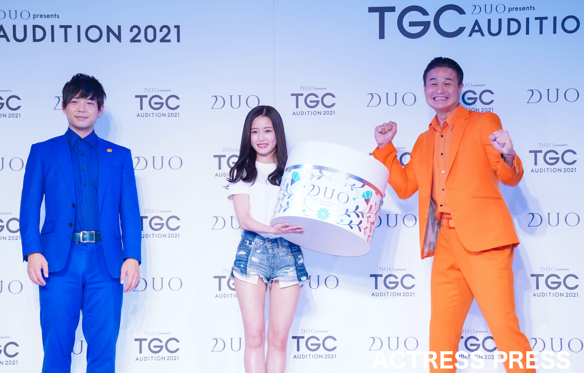新山桃子「TGC AUDITION 2021」DUO賞(2021年4月18日、撮影:ACTRESS PRESS編集部)
