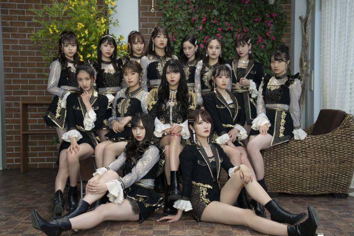 NMB48 25thシングル「シダレヤナギ」アーティスト写真