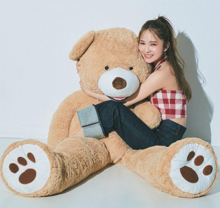 加藤史帆(日向坂46)、大好きなクマのぬいぐるみ
