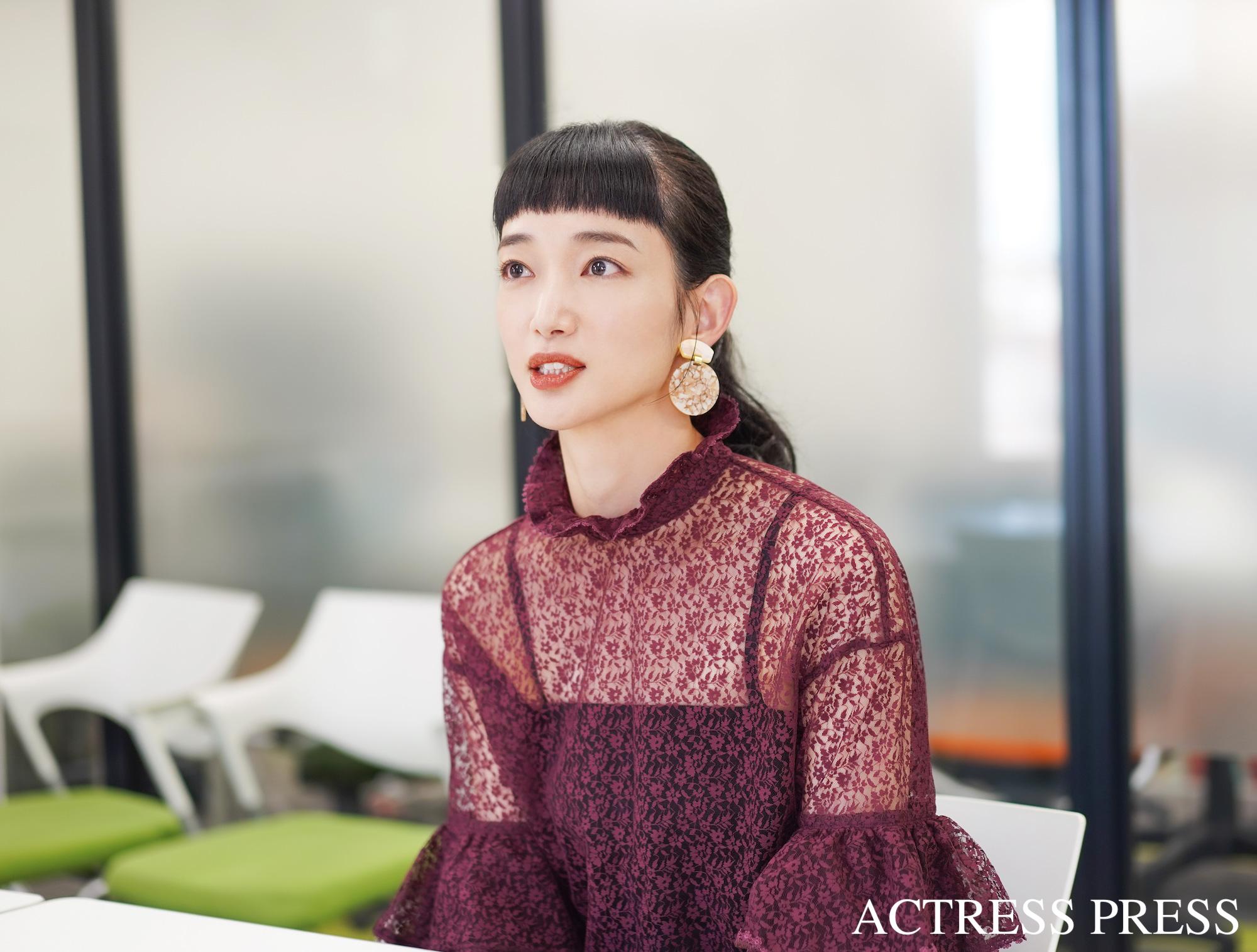入山法子/撮影:ACTRESS PRESS編集部