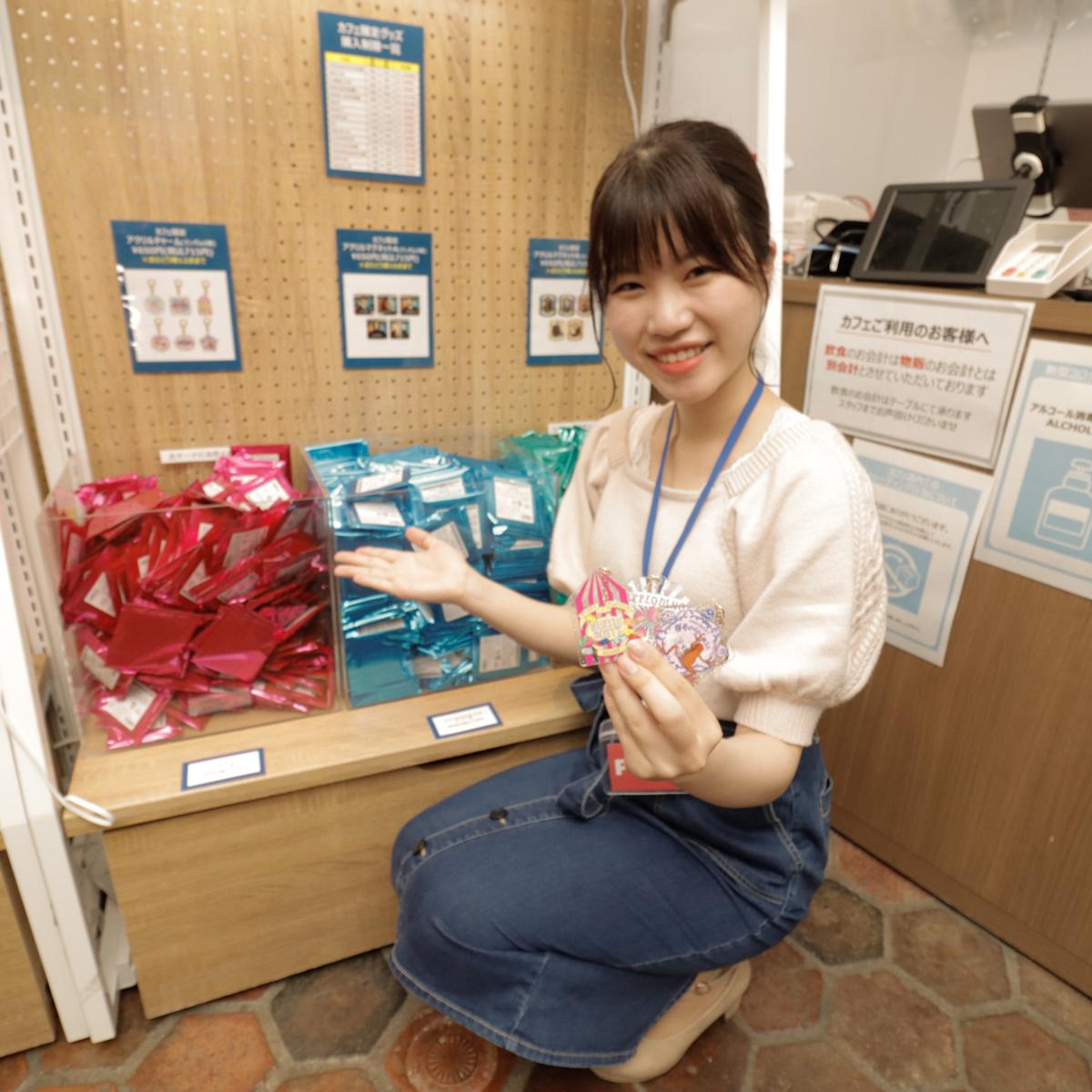 鈴木真央(ACTRESS PRESS REPORTER)in ハリー・ポッター カフェ