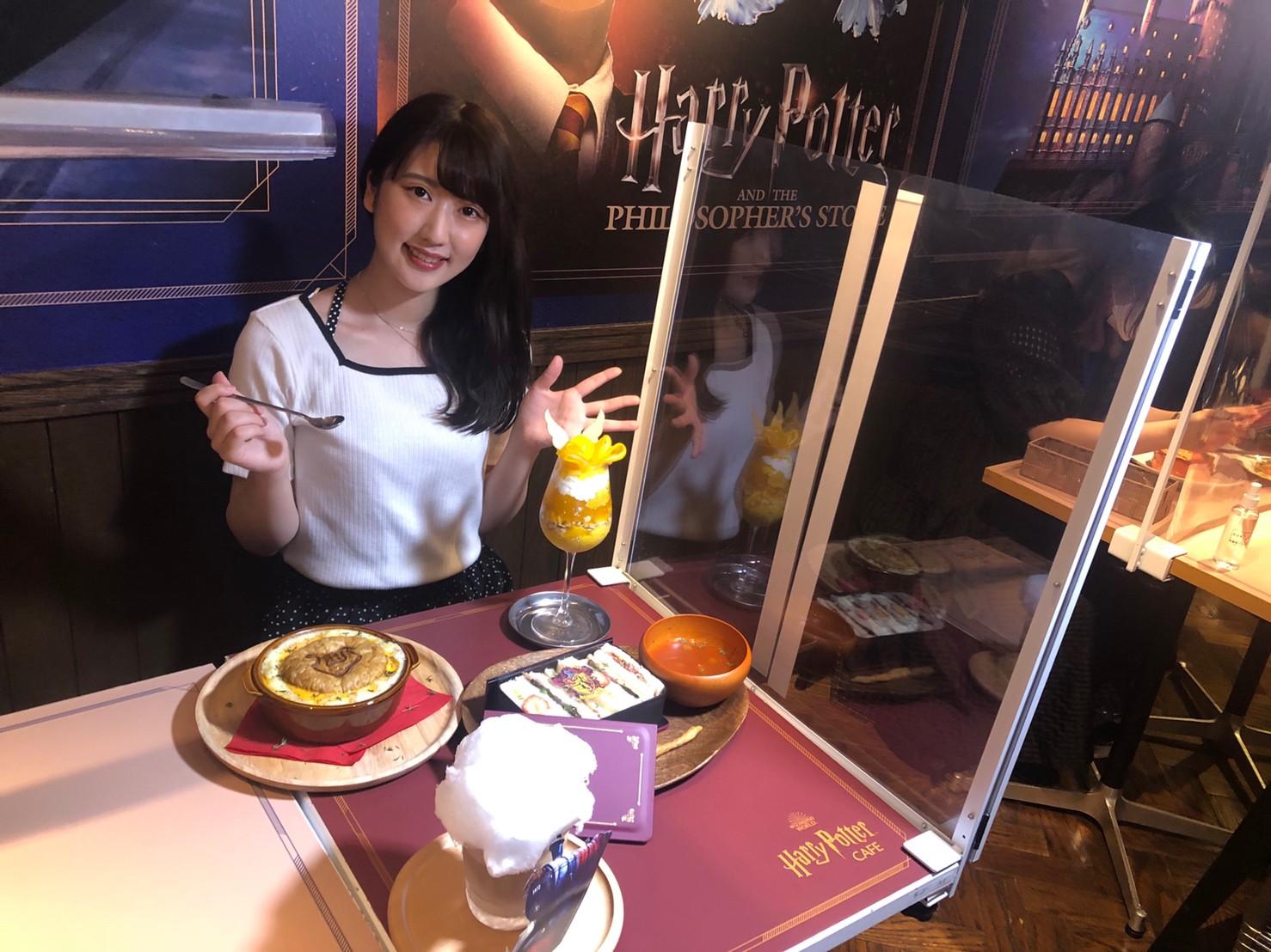 山本菜摘(ACTRESS PRESS REPORTER)in ハリー・ポッター カフェ