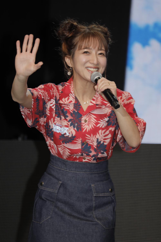 辻希美 in ウルトラヒーローズEXPO2021 サマーフェスティバル