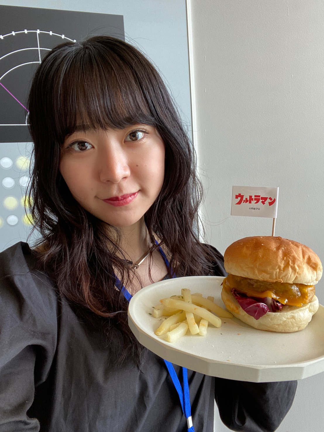 加藤優佳(ACTRESS PRESS Reporter)inウルトラマンカフェ