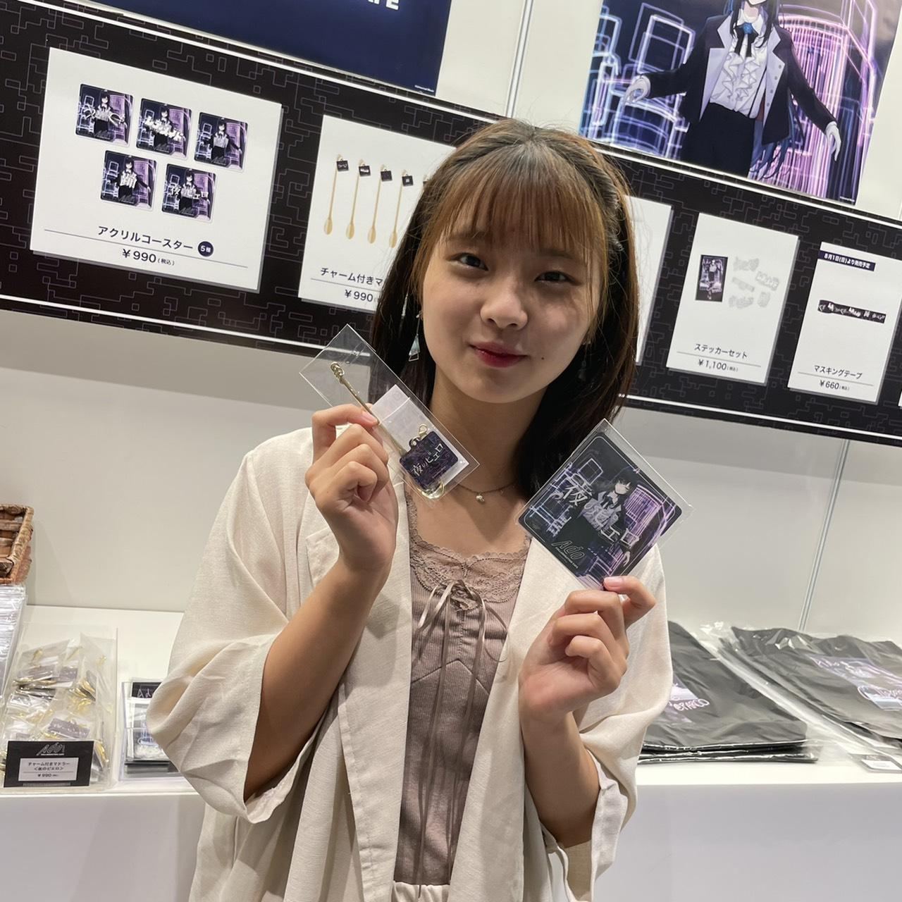 はせいあい(青山学院大学)ACTRESS PRESS REPORTER(アクトレスプレス・リポーター)in Ado Collaboration Cafe@PARCO 2021年8月