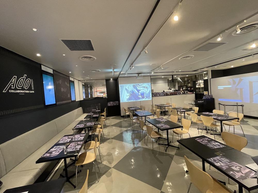 Ado Collaboration Cafe@PARCO