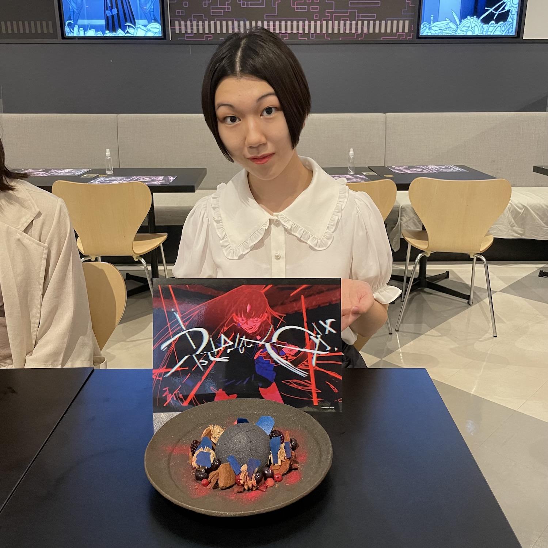 井上智尋(慶応義塾大学)ACTRESS PRESS REPORTER(アクトレスプレス・リポーター)in Ado Collaboration Cafe@PARCO 2021年8月