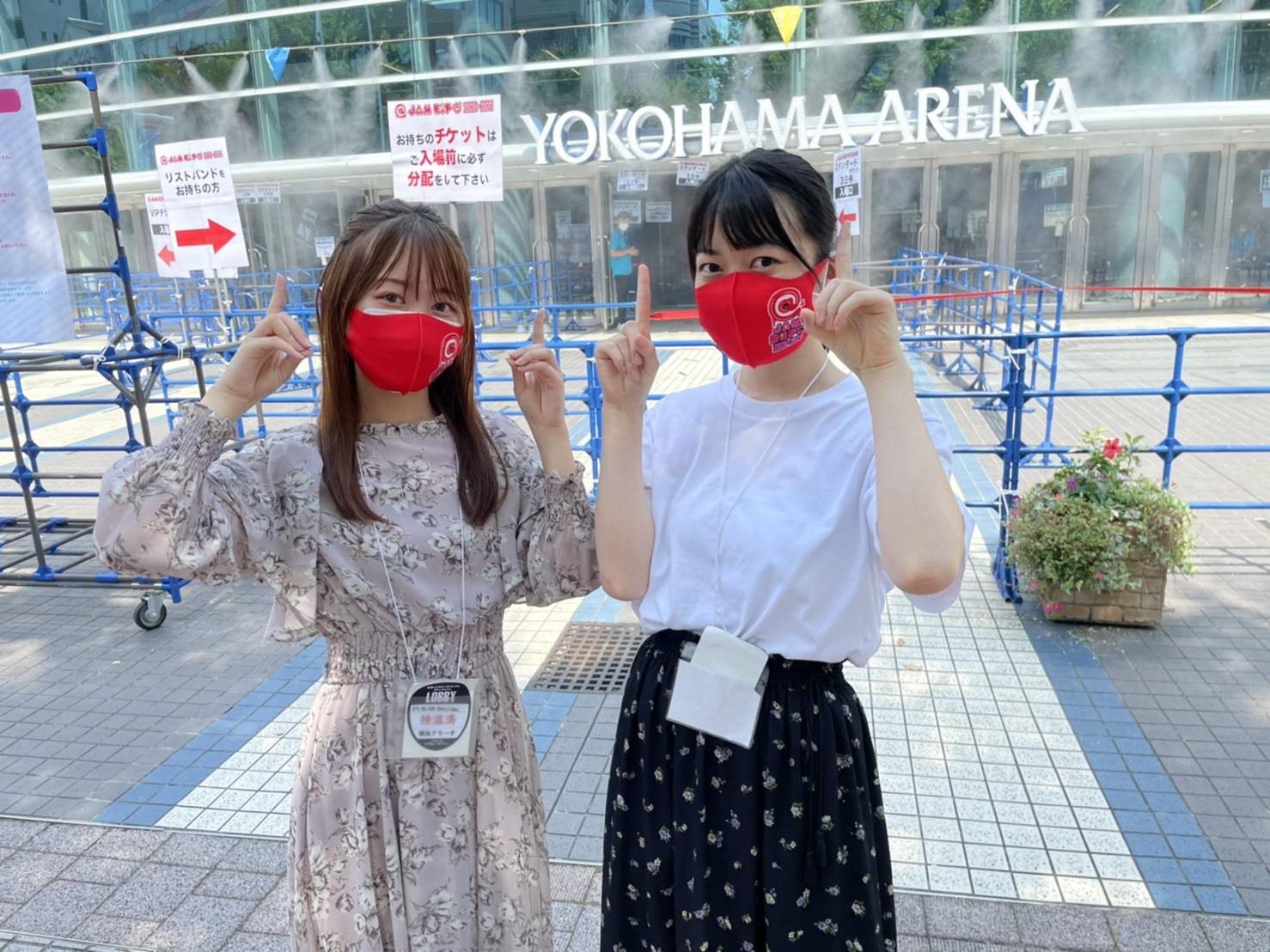 川上理子(京都女子大学))& 小栗あおい(筑波大学)横浜アリーナ @JAM EXPO 2020-2021