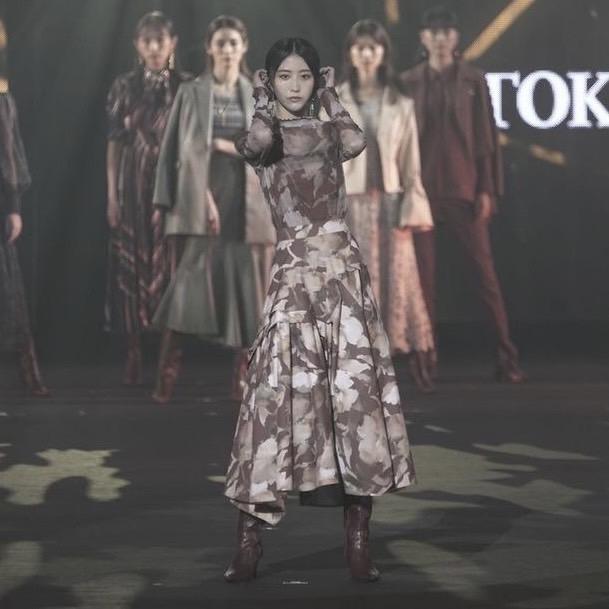 土生瑞穂(櫻坂46)東京ガールズコレクション 2021 AUTUMN/WINTER