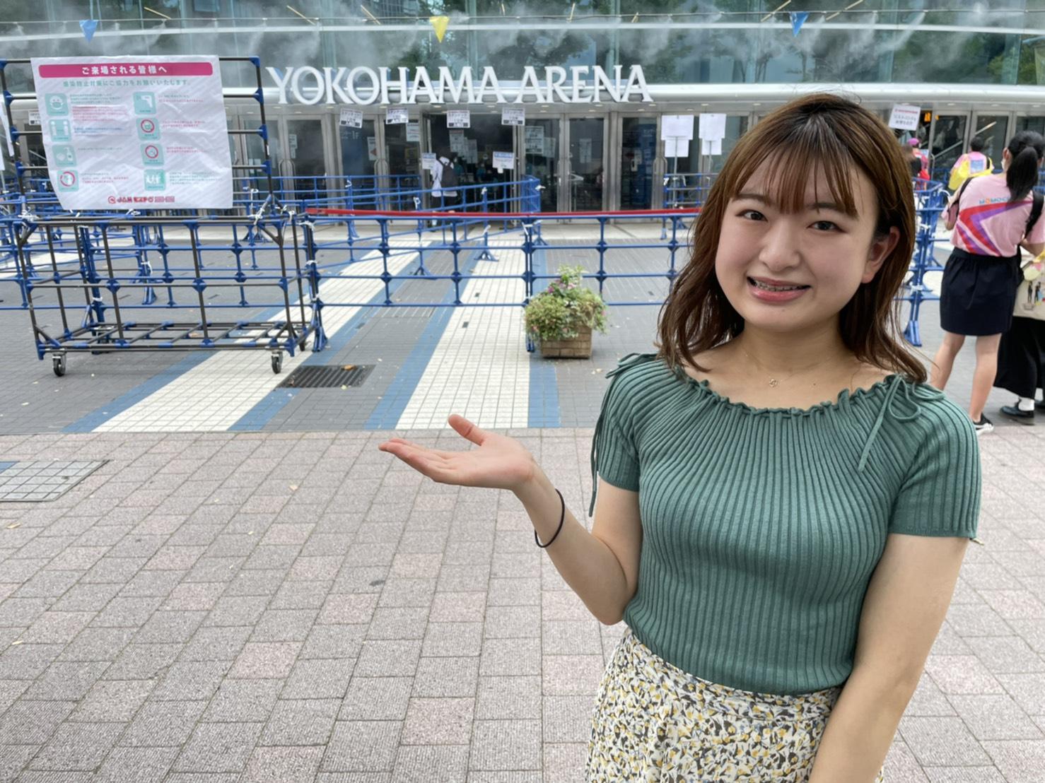 山内香味(東京女子大学)ACTRESS PRESS REPORTER IN 横浜アリーナ