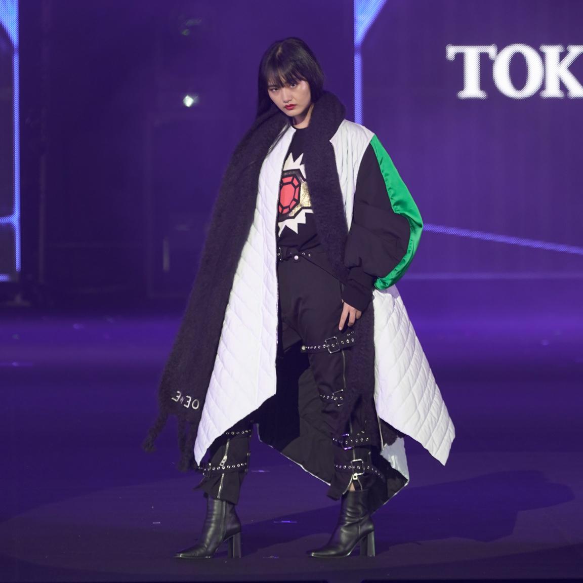 山﨑天(櫻坂46)東京ガールズコレクション 2021 AUTUMN/WINTER