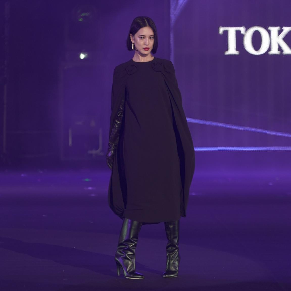 藤井夏恋・TGC 東京ガールズコレクション 2021 AUTUMN/WINTER