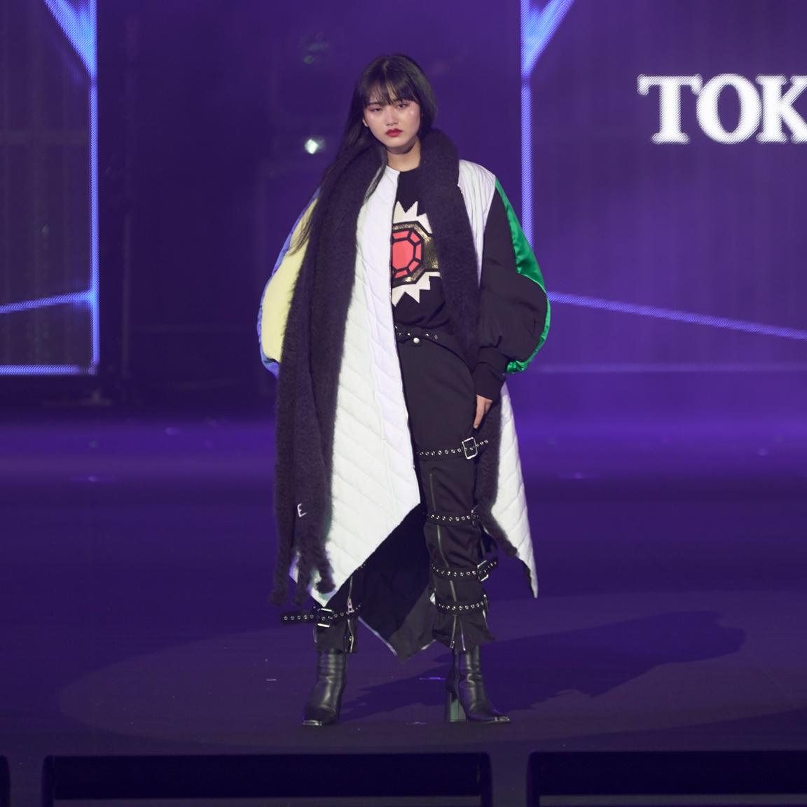 山崎天(櫻坂46)・TGC 東京ガールズコレクション 2021 AUTUMN/WINTER