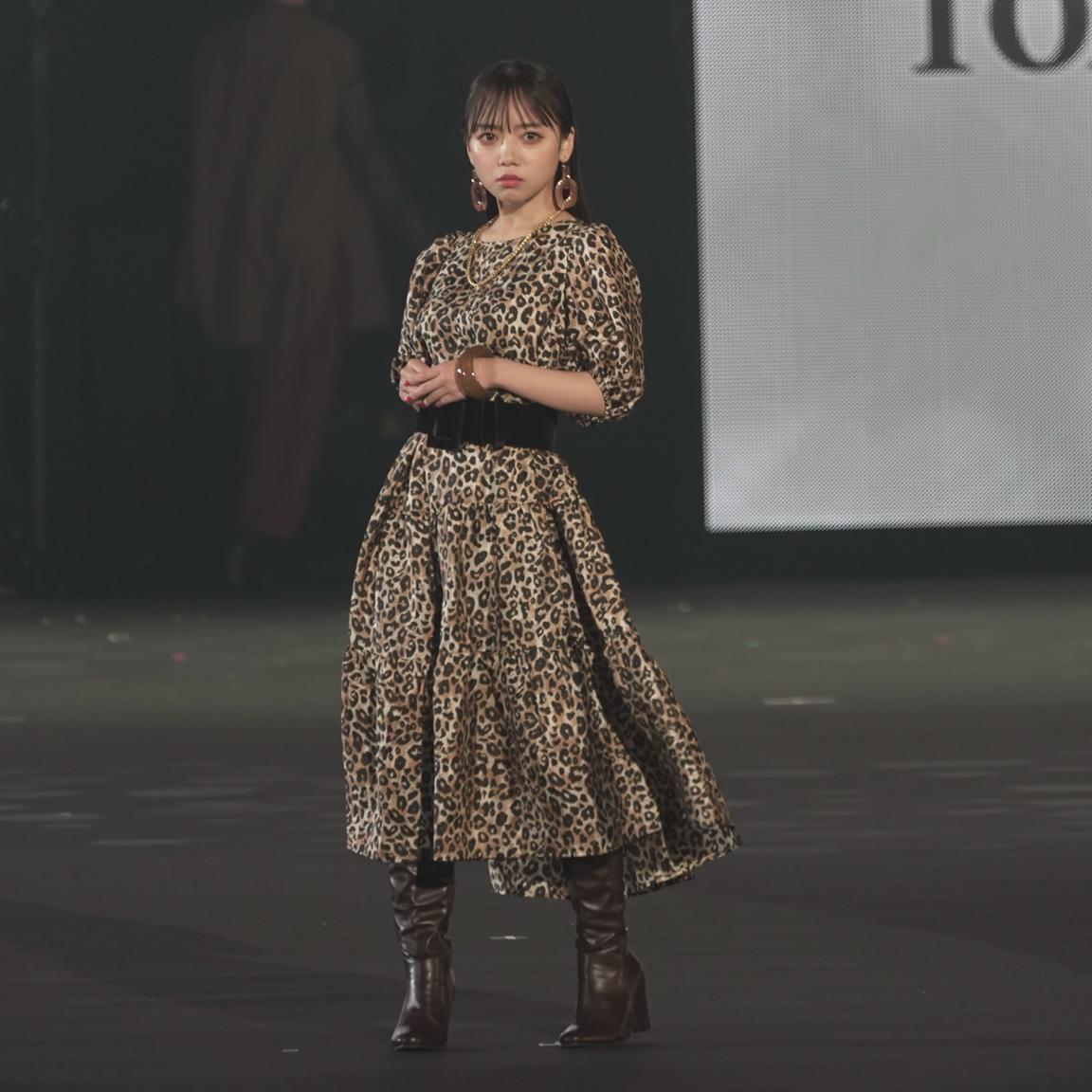 齊藤京子(日向坂46)in TGC 2021 A/W