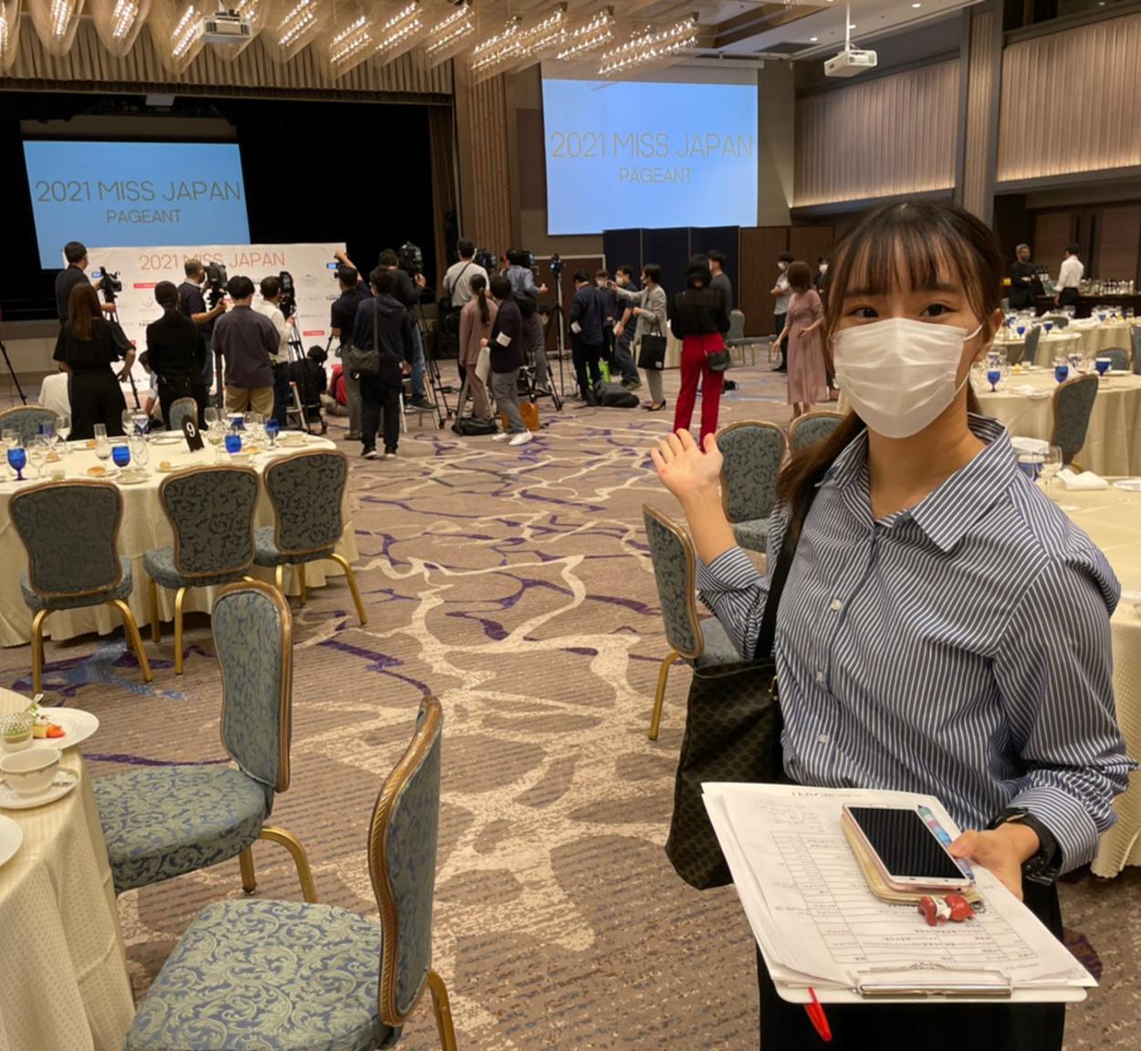 石田梨帆(東京外国語大学)ACTRESS PRESS REPORTER(アクトレスプレス・リポーター)