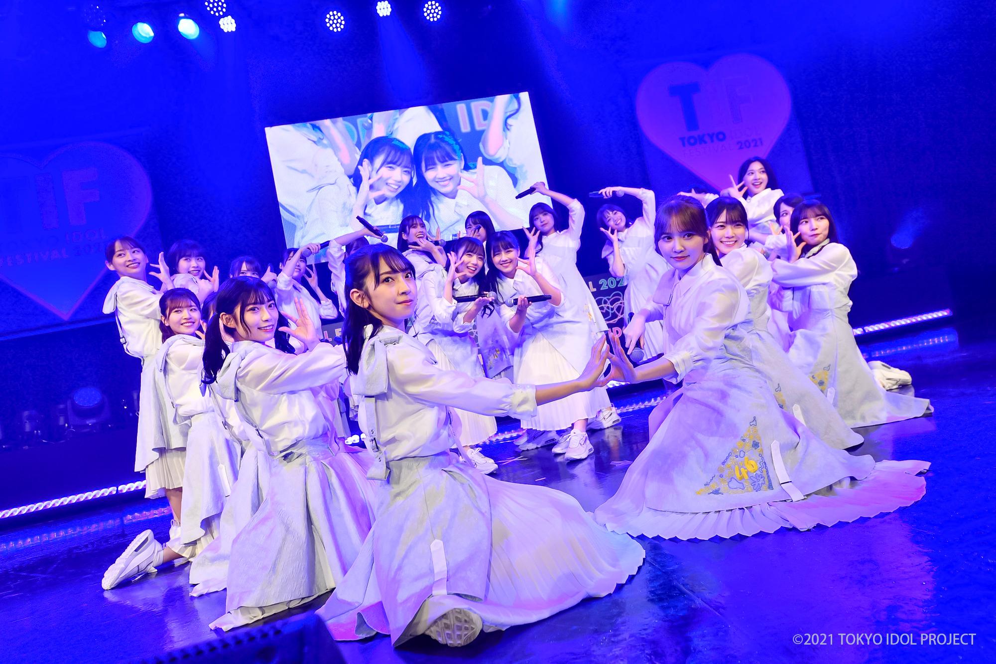日向坂46 TOKYO IDOL FESTIVAL 2021 ©ACTRESPRESS
