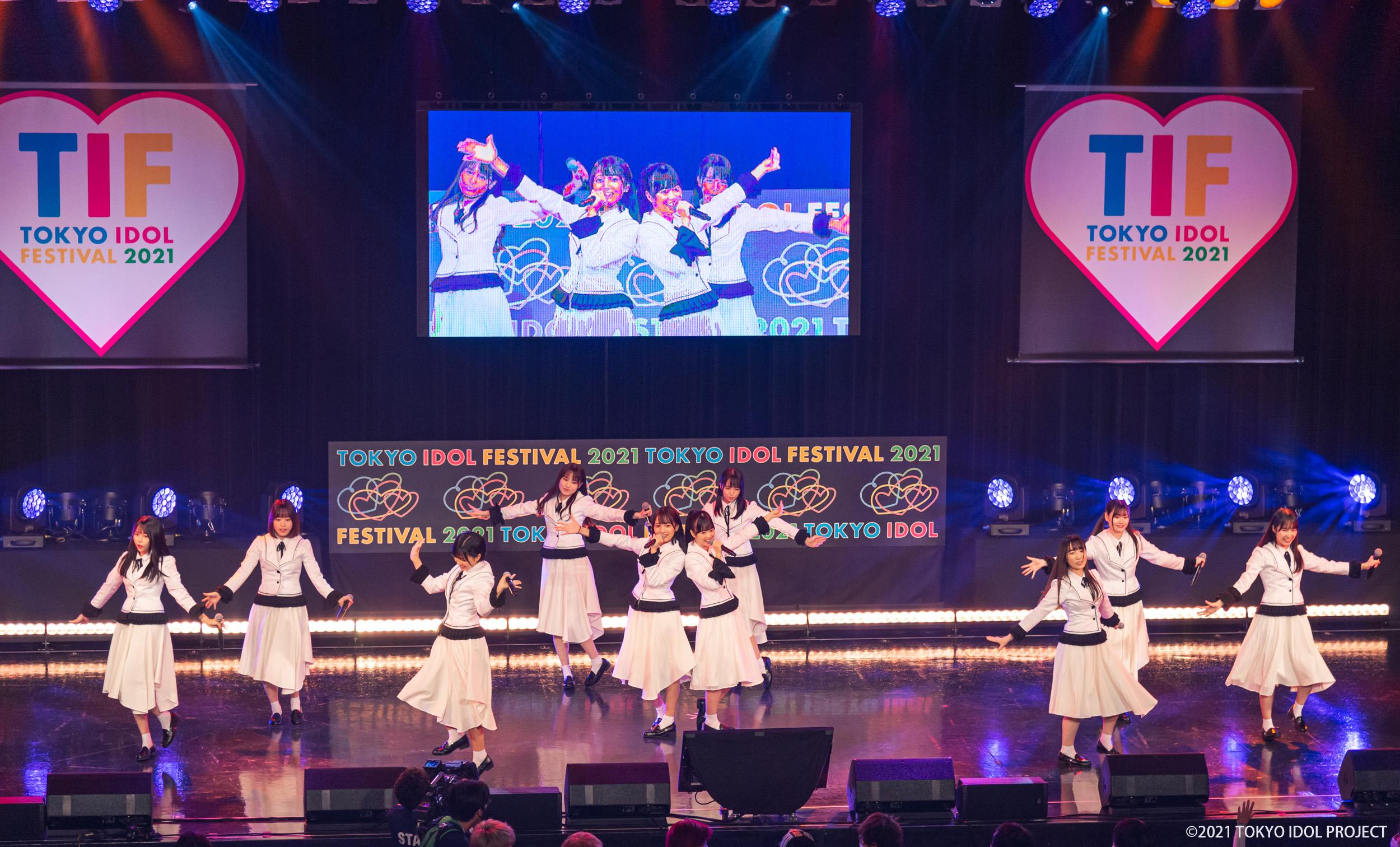 新アイドル「可憐なアイボリー」、TOKYO IDOL FESTIVAL 2021グランドフィナーレでデビュー!