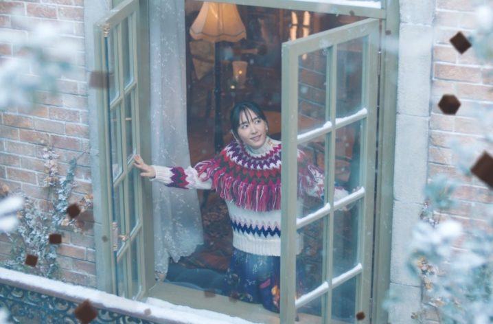 新垣結衣、ゆったりと流れる時間の中で、雪のようにくちどける「メルティーキッス」を味わう幸福感を表現!新CM公開!