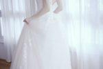 柏木由紀、20 代最後のウエディングドレス姿